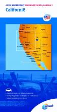 ANWB , ANWB wegenkaart Verenigde staten/Canada 3. Californië