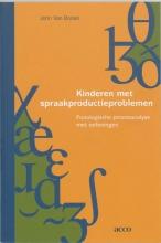 J. van Borsel , Kinderen met spraakproductieproblemen