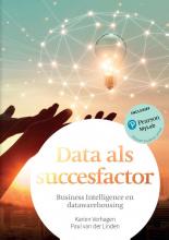 Paul van der Linden Karien Verhaegen, Data als succesfactor met MyLab NL toegangscode