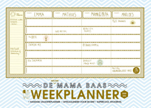 Mama Baas , De nieuwe Mama Baas weekplanner