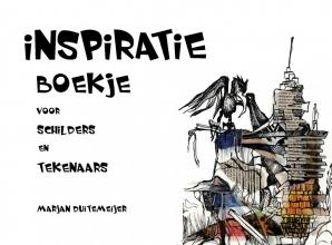 Marjan Duitemeijer , Inspiratie boekje voor schilders en tekenaars