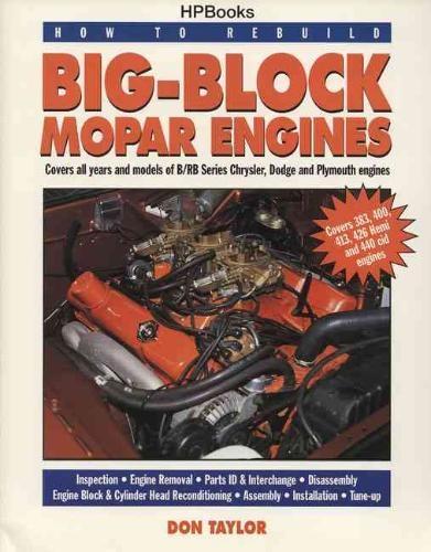 Don Taylor,How To Rebuild Big-block Mopar Engines