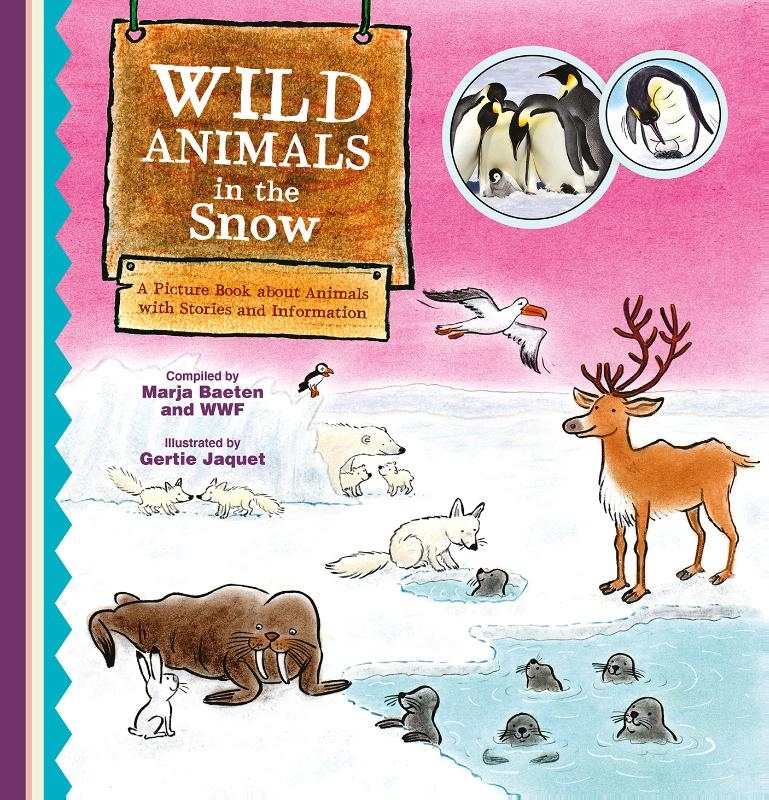 Marja Baeten,Wild Animals in the Snow