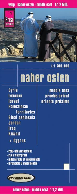 ,Reise Know-How Landkarte Naher Osten  (1:1.200.000)