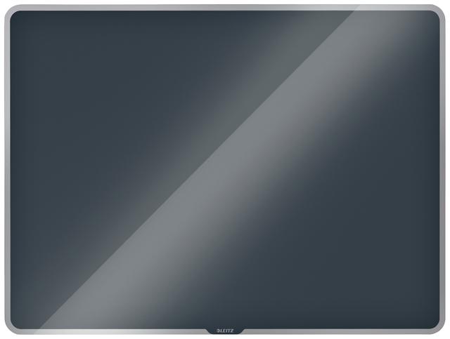 ,Glasbord Leitz Cosy magnetisch 800x600mm grijs