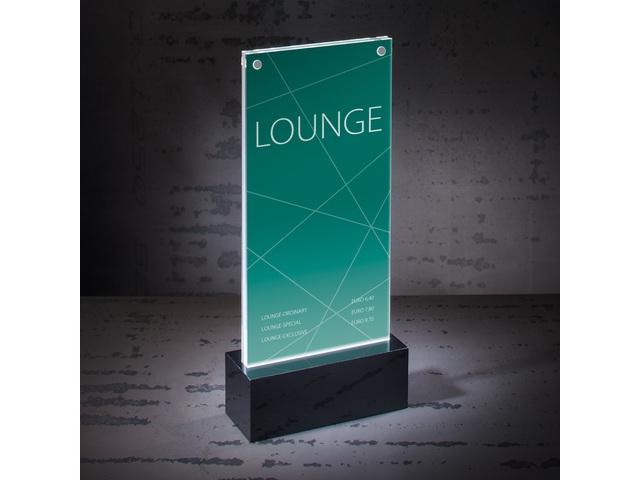 ,Tafelstandaard Sigel LED verlicht DL 116x255x45