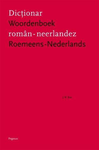 Jan Willem Bos,Woordenboek Roemeens-Nederlands