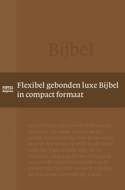 NBG,Bijbel NBV21 Compact Tijdloos
