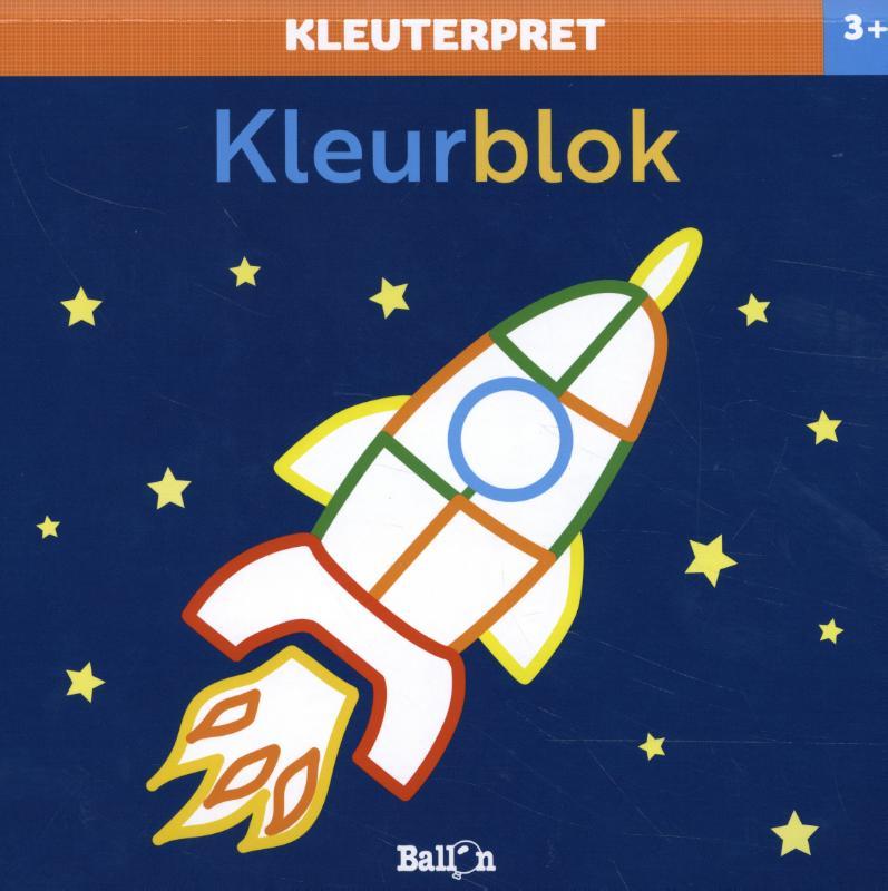 ,Kleurblok raket 3+