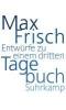 Frisch, Max,Tagebuch 3