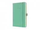 ,notitieboek Sigel Conceptum Pure hardcover A5 Aqua Green    gelinieerd