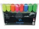 ,tekstmarker Schneider Job 150 etui a 8 stuks assorti kleuren