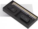 ,WK4 geschenkset FC Sparkle    met 3 potloden metallic, gum                                slijper zwart goud zilver