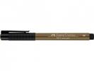 Fc-167480 ,Faber Castell Tekenstift Pitt Artist Pen Brush Raw Umber 180