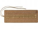 <b>Roletui Faber Castell kunstleer bruin capaciteit: 45</b>,