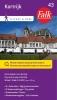 Falkplan BV ,Falk city map & more 43 Kortrijk 1e druk recente uitgave