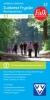 Falkplan,Falk VVV wandelkaart 12 Zuidwest Fryslan met Gaasterland, inclusief wandelknooppunten