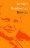 <b>Dietrich  Bonhoeffer</b>,Brevier