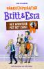 Joke  Reijnders,Paardenpraat tv Britt en Esra - Het avontuur met het zadel