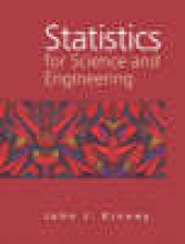 John Kinney Statistics for Science and Engineering