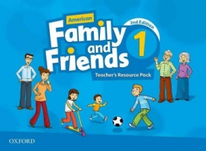 Simmons, Naomi,   Thompson, Tamzin,   Quintana, Jenny American Family and Friends 1. Teacher`s Resource Pack