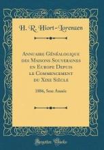 Hiort-Lorenzen, H. R. Hiort-Lorenzen, H: Annuaire Généalogique des Maisons Souvera