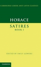 Horace,   Emily Gowers Horace: Satires Book I