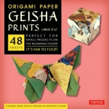 Tuttle Origami Paper Geisha Prints Large