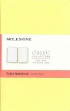 Moleskine Classic Notebook, Pocket, Ruled, Citron Yellow
