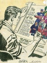 Simon, Joe,   Kirby, Jack The Art of the Simon and Kirby Studio