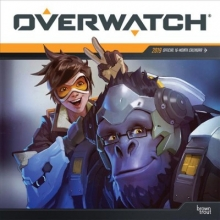 Inc Browntrout Publishers Overwatch 2019 Square Wall Calendar
