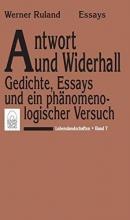Ruland, Werner Lebenslandschaften Antwort und Widerhall