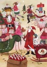 , Adventskalender Weihnachtstreiben