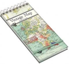 , Notitieboekje met ringband - vintage map