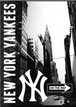 , Schrift a4 ruit new york yankees zwart