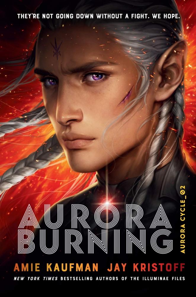 Amie,Kaufman,Aurora Burning