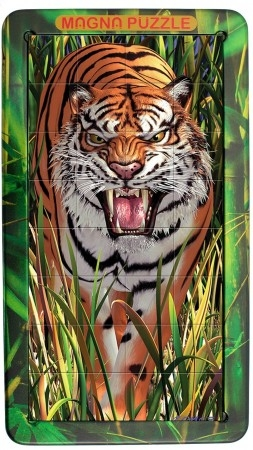 Tff-031101,Puzzel 3d magna tiger 32 stuks