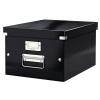 ,<b>Opbergbox Leitz Click & Store 265x188x335mm zwart</b>