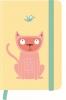 , Notitieboek  a6 lijn larsen funny cats