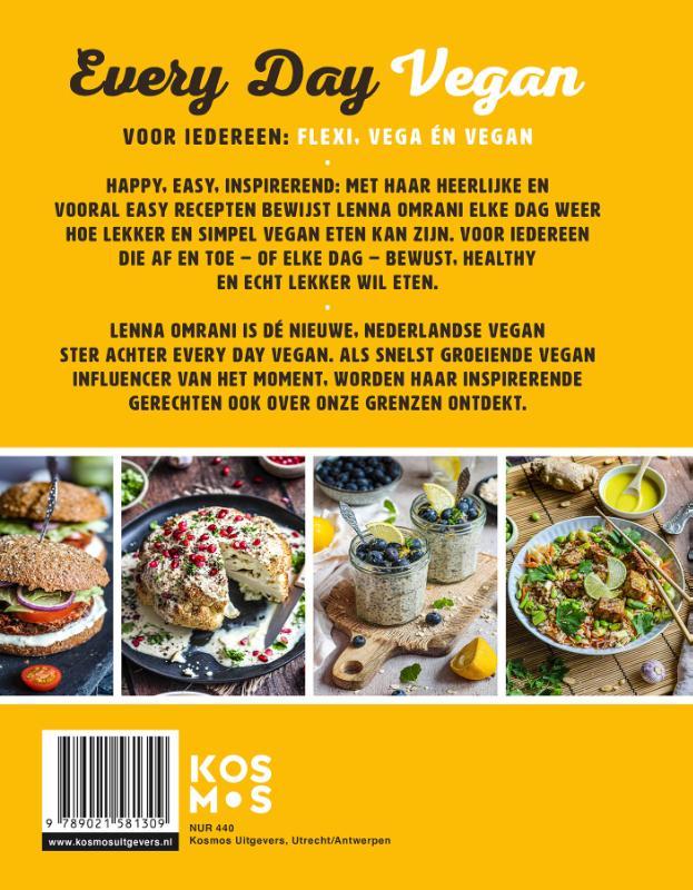Lenna Omrani,Every Day Vegan