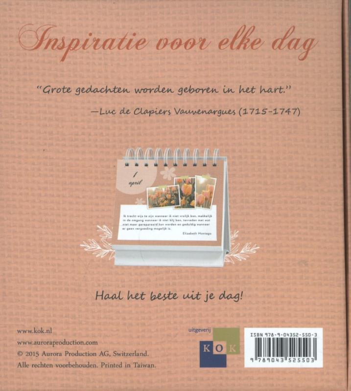 Abi May,Inspiratie voor elke dag