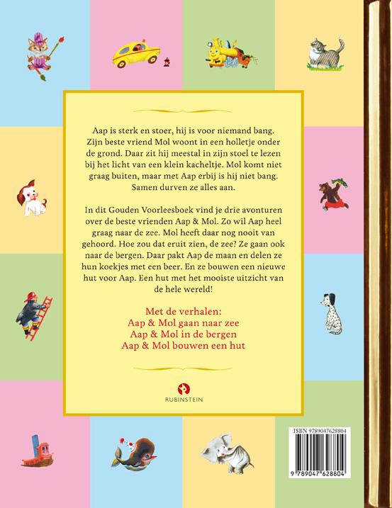 Gitte Spee,Het Gouden Boek van Aap en Mol