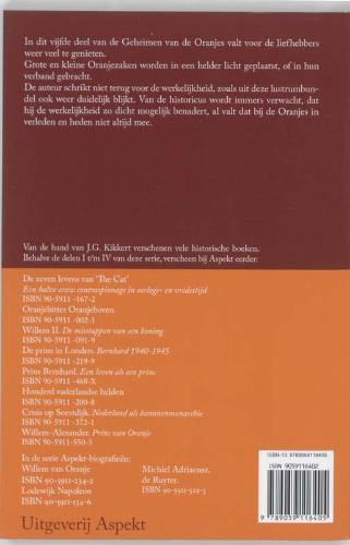 J.G. Kikkert,Geheimen van de Oranjes 5