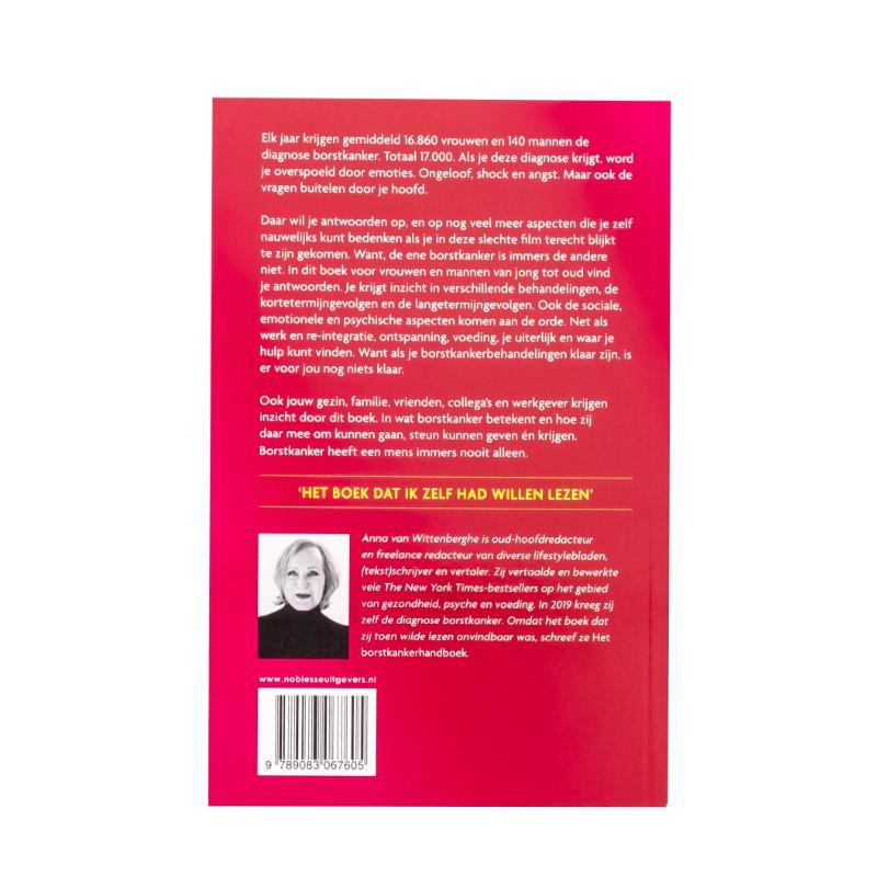 Anna van Wittenberghe,Het borstkankerhandboek