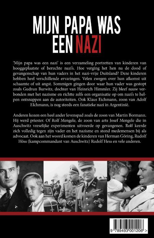 Diete Oudesluijs, Perry Pierik,Mijn papa was een Nazi