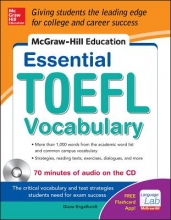 Engelhardt, Diane McGraw-Hill Education Essential Vocabulary for the TOEFL® Test with Audio Disk