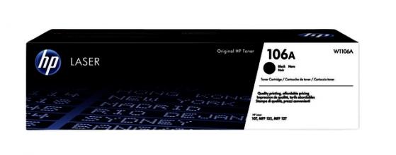 , Tonercartidge HP W1106A 106A zwart