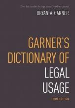 Garner, Bryan A. Dictionary of Modern Legal Usage