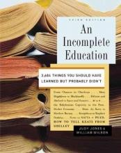 Jones, Judy,   Wilson, William An Incomplete Education