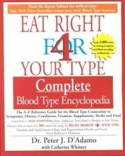 Peter D`Adamo Eat Right for Your Type Comple